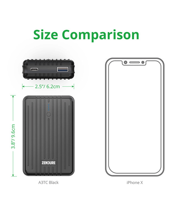 Zendure A3PD External Battery with USB-C Power Delivery 10000mAh
