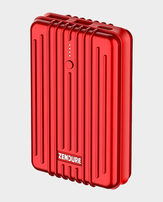 Zendure A3PD External Battery with USB-C Power Delivery 10000mAh Red