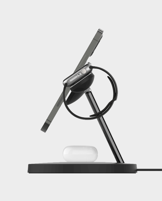 Belkin Boost Up Charge Pro 3-in-1 Wireless Charger with MagSafe