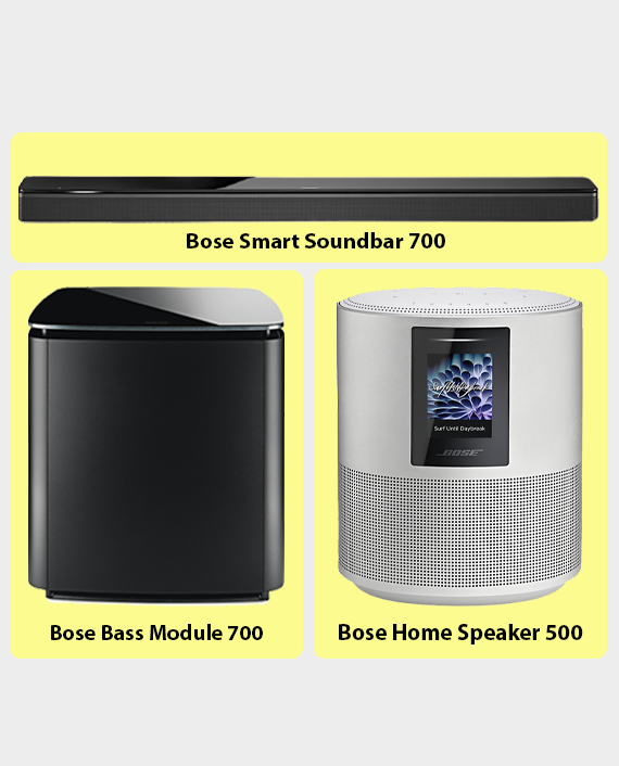 Bose Smart Sound System Bundle in Qatar
