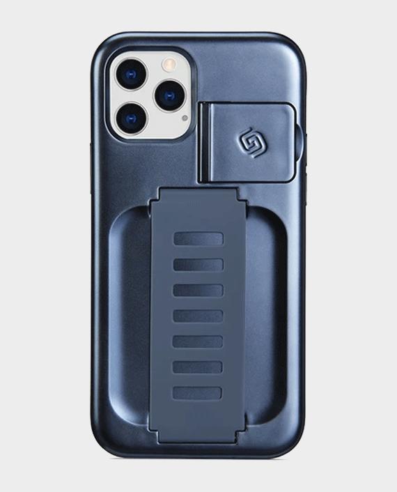 Grip2u iPhone 12 Pro Max Boost Case with Kickstand Metalic Blue in Qatar