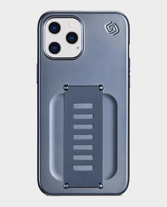 Grip2U Slim Case for iPhone 12/12 Pro Metalic Blue in Qatar