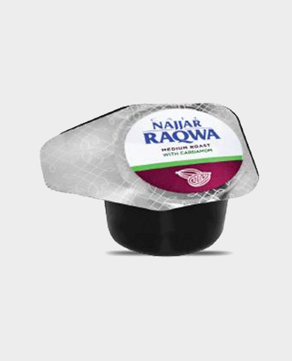 Najjar Raqwa Single Cup Medium Roast with Cardamom Bag of 20 Pieces
