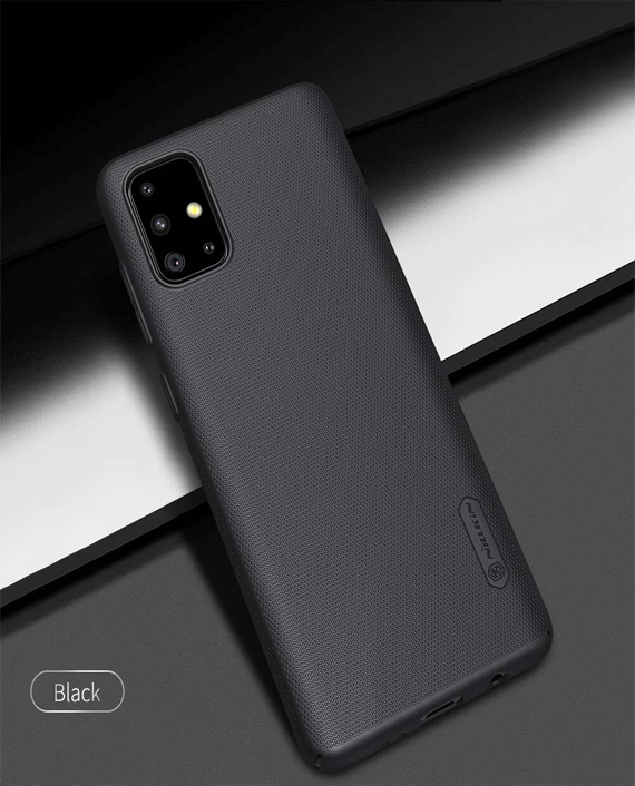 Nillkin Samsung Galaxy A71 Super Frosted Shield Protection Case - Black