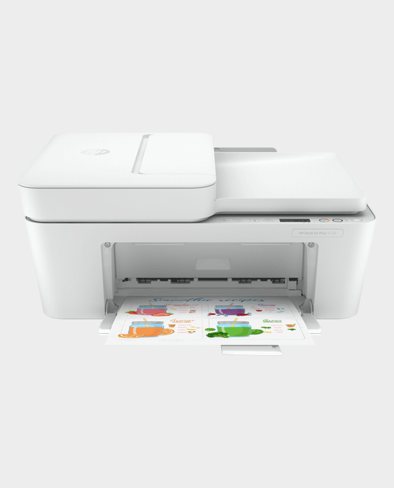 HP DeskJet Plus 4120 All-in-One Printer in Qatar