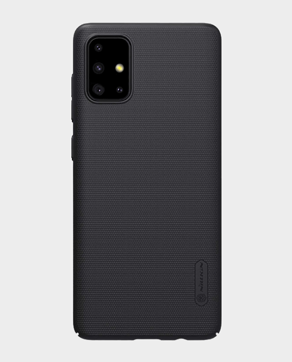 Nillkin Samsung Galaxy A71 Super Frosted Shield Protection Case Black in Qatar