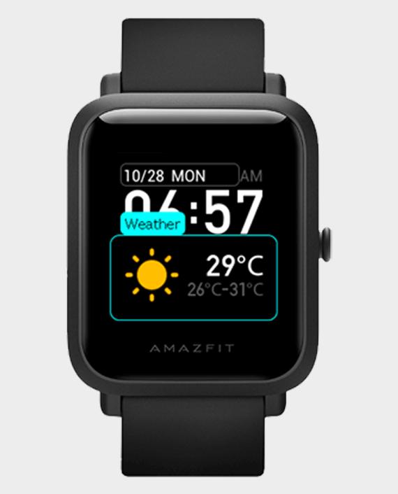 Amazfit Bip S Smart Watch Carbon Black in Qatar