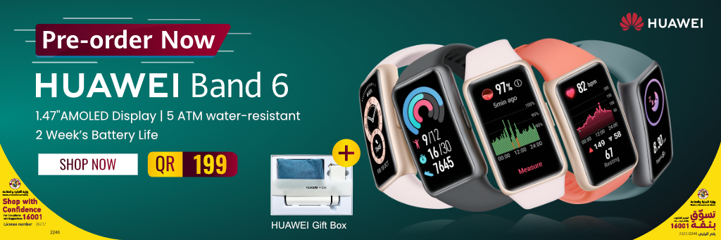Huawei Band 6 in Qatar
