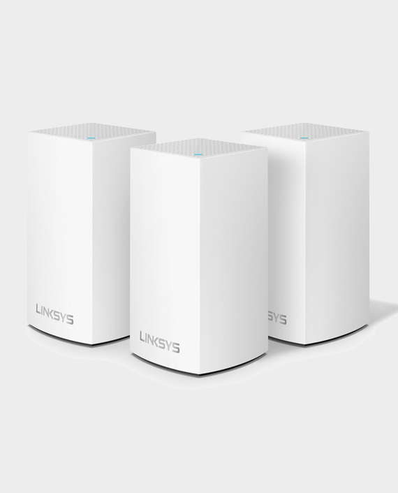 Linksys WHW0103-ME Velop Whole Home Intelligent Mesh WiFi System AC3900 3-Pack in Qatar