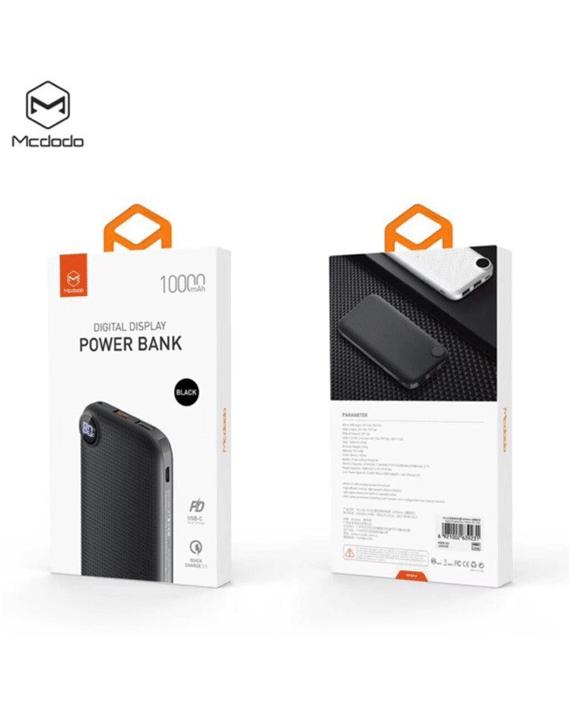 Mcdodo MC-6581 Digital Display Powerbank 10000mAh