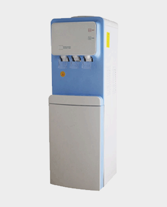 Milestone Water Dispenser with Fridge Blue in Qatar