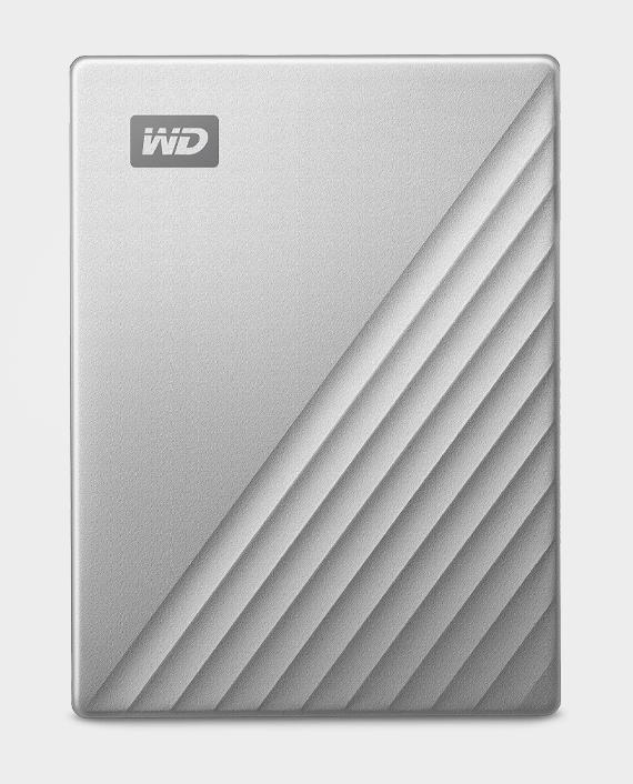 WD Portable Hard Drive My Passport Ultra 2TB Metal Design USB-C Silver in Qatar