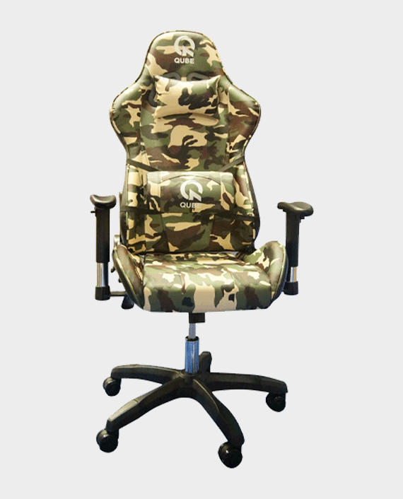 QUBE Levin D2012003M Gaming Chair Military Green in Qatar