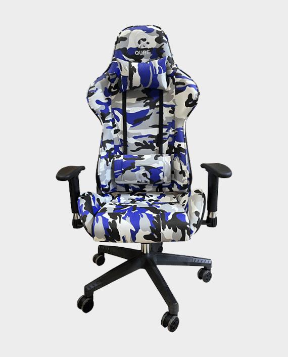 QUBE Levin M2103C008 Gaming Chair Military Blue in Qatar