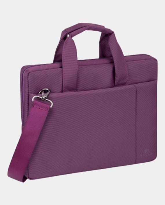 RivaCase 8221 Laptop Bag 13.3 Inch Purple in Qatar