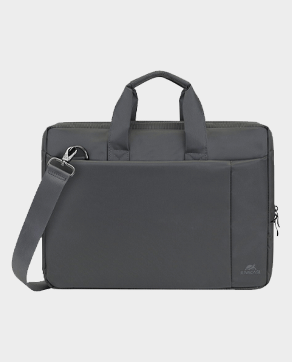 RivaCase 8231 Laptop Bag 15.6 Inch Grey in Qatar