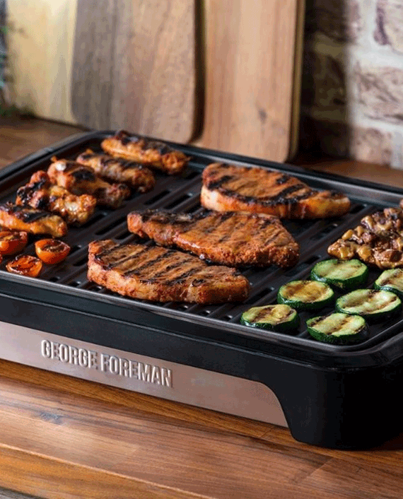 Russell Hobbs George Foreman 25850 Smokeless Electric Grill