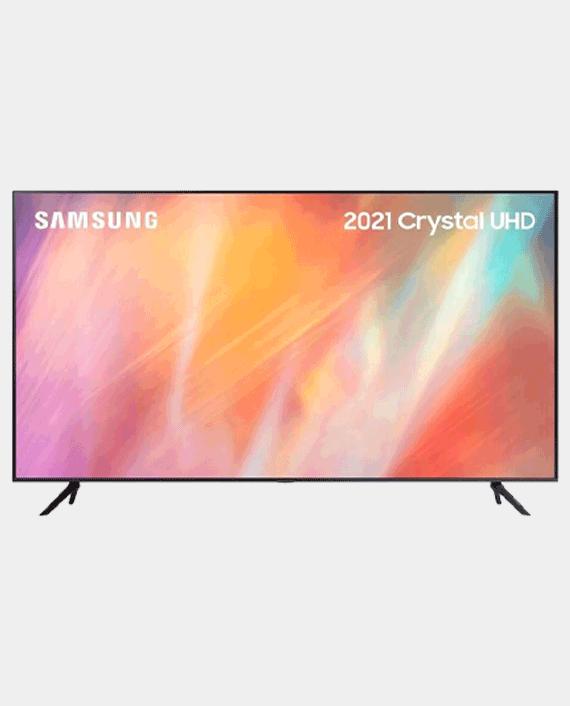 Samsung UA55AU7000UXQR Crystal UHD 4K Smart TV (2021) 55 Inch in Qatar