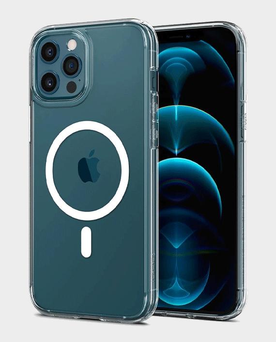 Spigen iPhone 12 / iPhone 12 Pro Ultra Hybrid MagSafe Case Clear in Qatar
