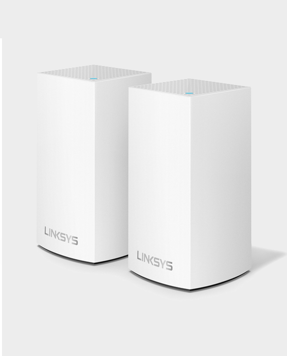 Linksys WHW0102-ME Velop Whole Home Intelligent Mesh WiFi System AC2600 Dual-Band 2 Pack in Qatar