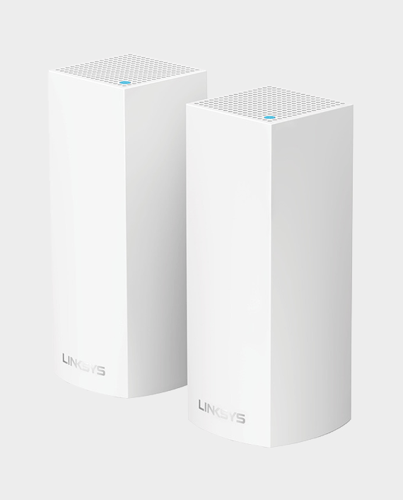 Linksys WHW0302-ME Velop Whole Home Intelligent Mesh WiFi System AC4400 2-Pack in Qatar