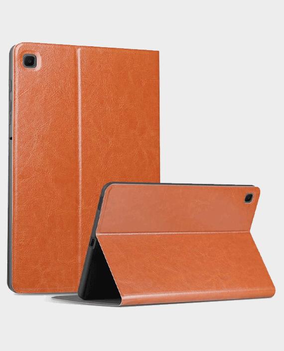 X-level Samsung Tab A7 10.4 Kite Series Book Case (T500/T505) Brown in Qatar