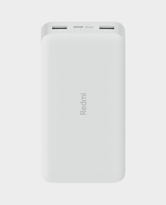 Xiaomi Redmi 18W Fast Charge Power Bank 20000mAh White in Qatar