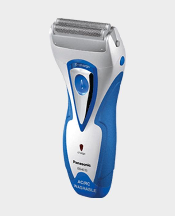 Panasonic ES-4033 2Blade Cordless Shaver Blue in Qatar