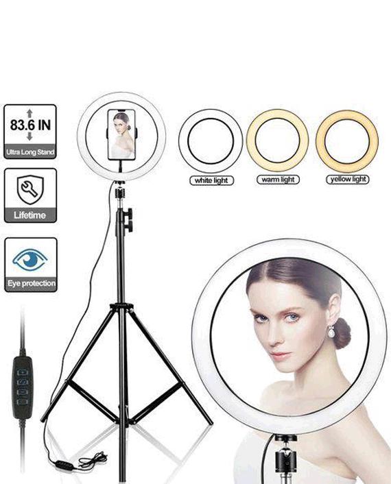 iBrit Selfie Ring Light Studio 10 inch with Tripod