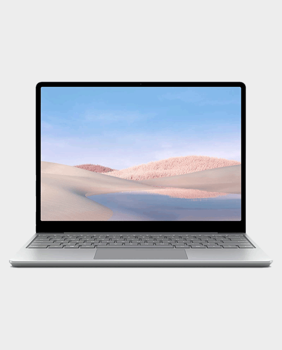 Microsoft Surface Laptop Go TNU-00014 Intel Core i5-1035G1 8GB Ram 128GB SSD 12.4 inch Touch Platinum in Qatar