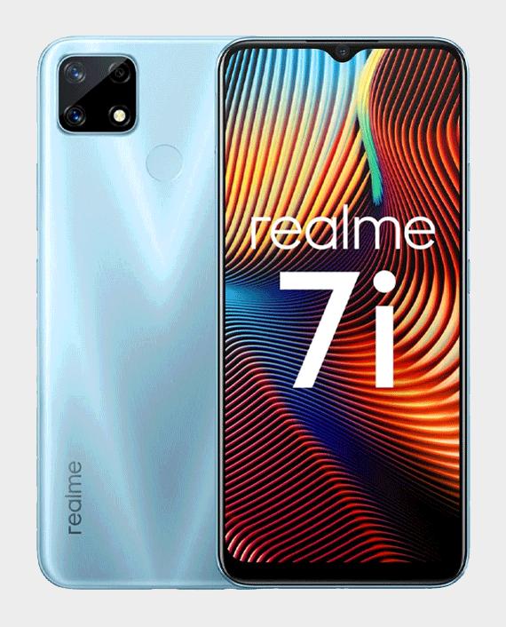 Realme 7i 4GB 64GB Polar Blue in Qatar