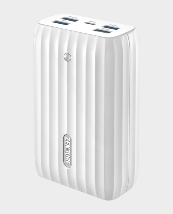 Zendure A6 Portable Charger & Hub with USB-C PD 45W 20100mAh White in Qatar
