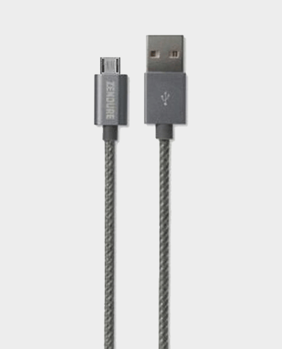 Zendure Braided Aluminum Charge / Sync Micro USB Cable 30cm Grey in Qatar