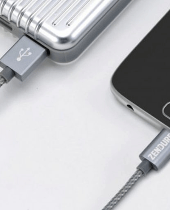 Zendure Braided Aluminum Charge / Sync Type-C Cable 30cm