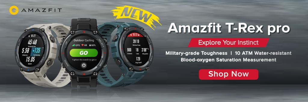 Amazfit T-Rex Pro in Qatar