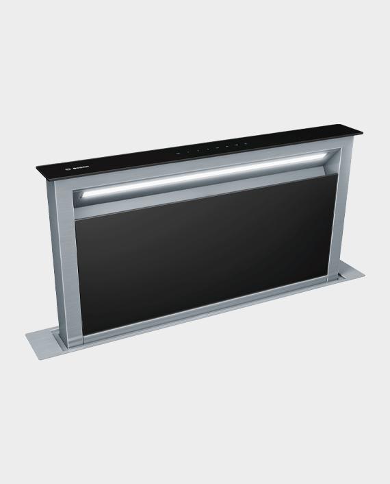 Bosch DDA097G59B Series 8 Downdraft Hood 90cm Clear Glass Black in Qatar