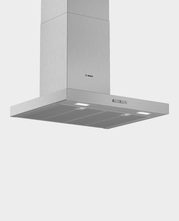 Bosch DWB64BC51B Series 2 Wall-mounted Cooker Hood 60cm Stainless Steel in Qatar