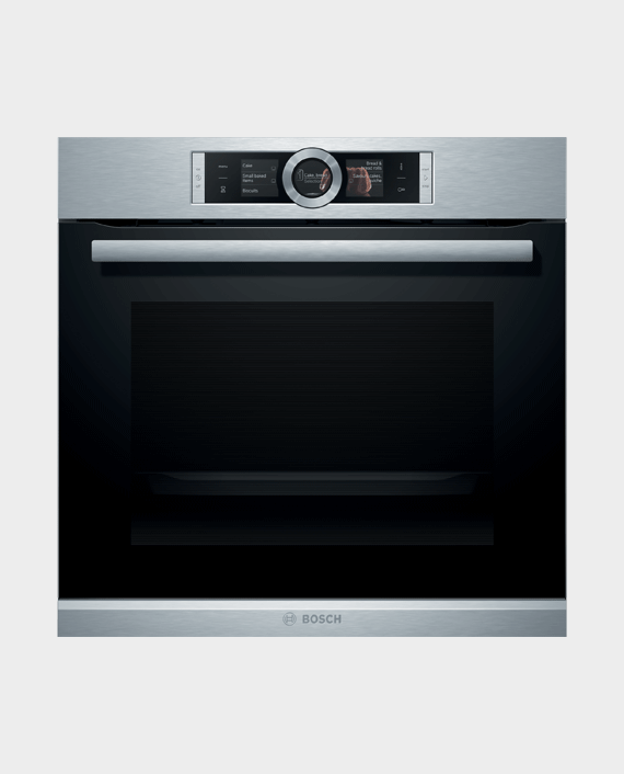 Bosch HBG656RS1M Series 8 Built-in Oven 60 x 60 cm Stainless Steel in Qatar