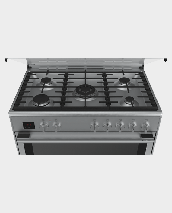 Bosch HSB738357M Series 8 Dual Fuel Stainless Steel Range Cooker