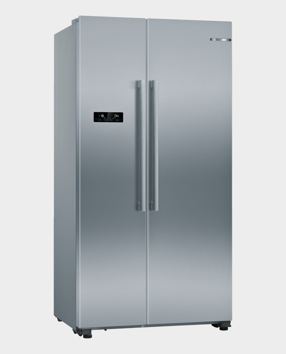 Bosch KAN93VL30M Series 4 Side by Side Refrigerator Stainless Steel in Qatar