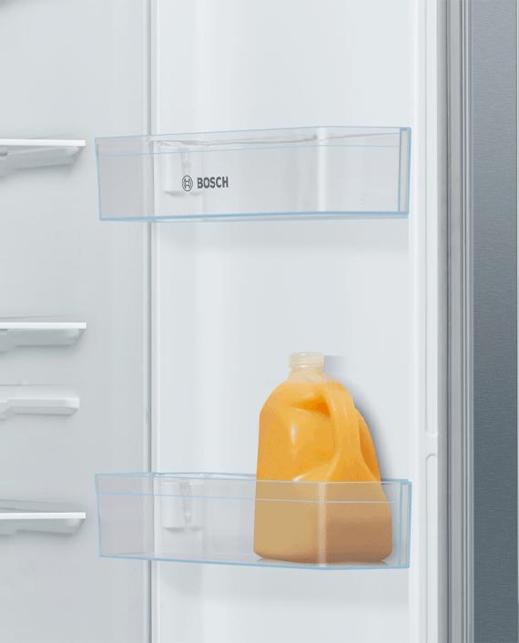Bosch KAN93VL30M Series 4 Side by Side Refrigerator Stainless Steel