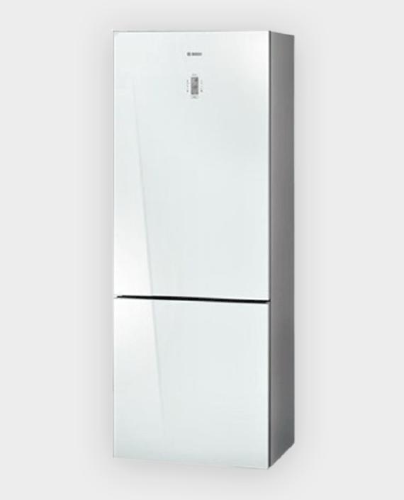 Bosch KGN57SW20M Free Standing Fridge and Freezer Silver in Qatar
