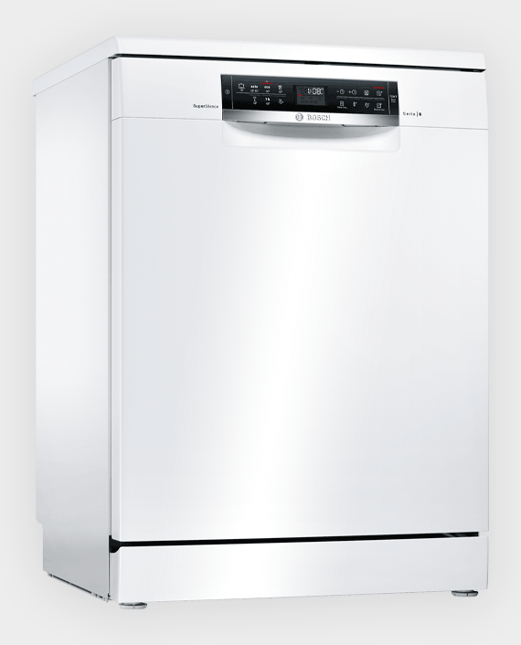 Bosch SMS67NW10M Series 6 Free-Standing Dishwasher White in Qatar