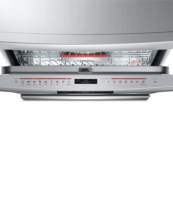 Bosch SMS88TI30M Series 8 Free-Standing Dishwasher Stainless Steel