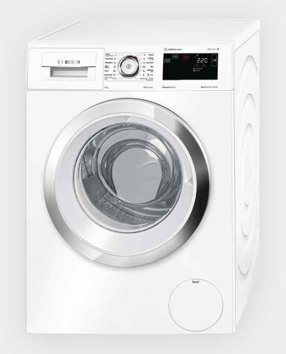 Bosch WAT28780GC Series 6 Front Loader Washing Machine 9 kg White in Qatar
