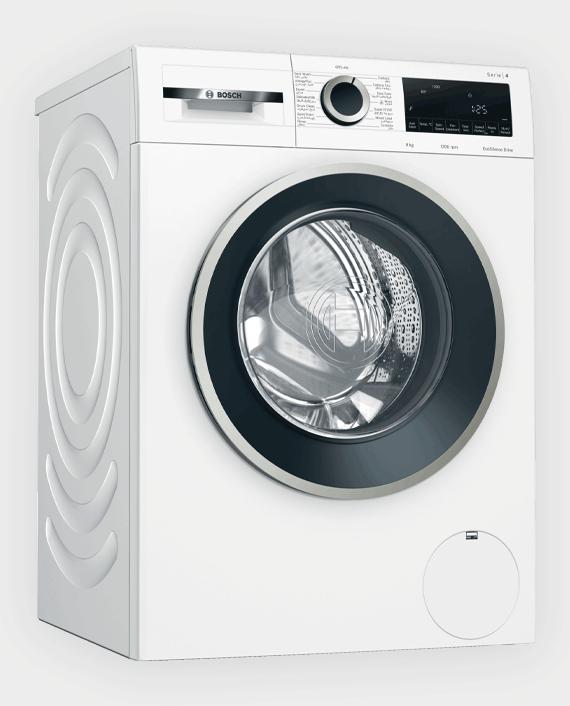 Bosch WGA142X0GC Series 4 Front Loader Washing Machine 9 kg White in Qatar