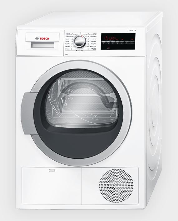 Bosch WTG86401GC Series 6 Condenser Tumble Dryer 9 kg White in Qatar