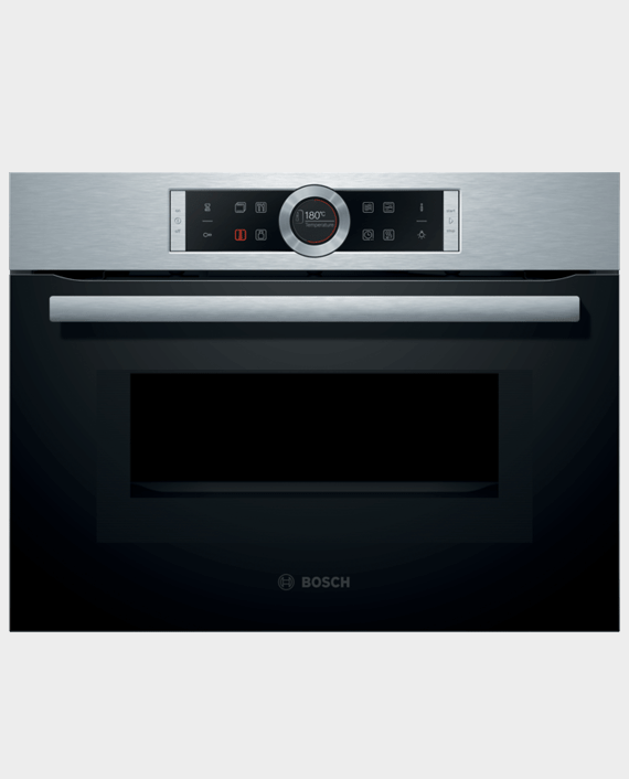 Bosch CMG633BS1M Series 8 Built in Compact Oven with Microwave Function in Qatar