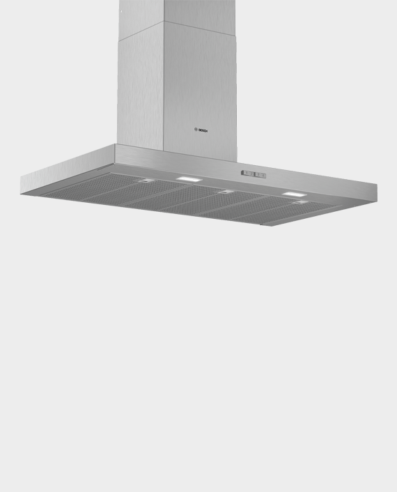 Bosch DWB94BC51B Series 2 Wall-mounted Cooker hood 90cm Stainless steel in Qatar