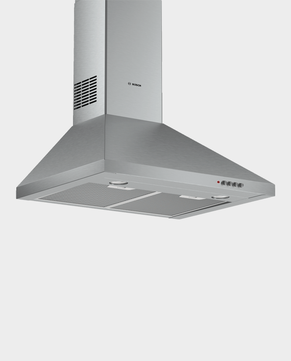 Bosch DWP64CC50M Series 2 Wall-mounted Cooker Hood 60cm Stainless Steel in Qatar